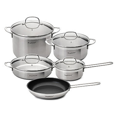 BergHOFF Bistro Stainless Steel Cookware Set 9pc