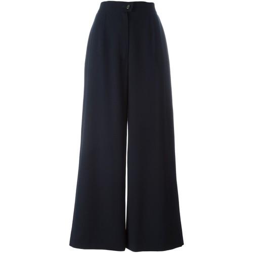 CHANEL VINTAGE Wide Leg Trousers