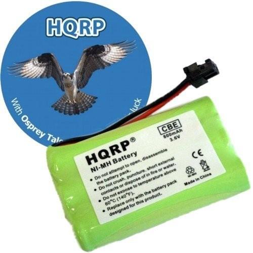 HQRP Phone Battery for Uniden EXT1460 TCX800 TCX805 TCX860 TCX905 TCX950 Cordless Telephone plus Coaster