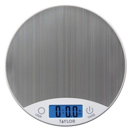 Taylor Digital 11lb Food Scale - White/Stainless