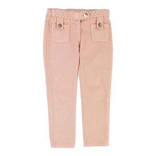 CHLOE Denim Braided Trousers, Size 6-10