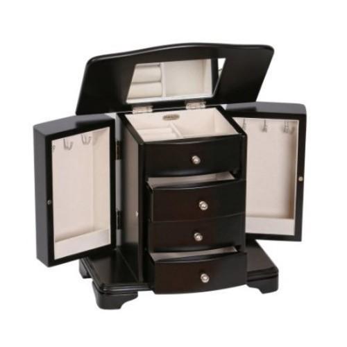 Mele & Co. Dane Wooden Jewelry Box - Java