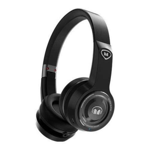 Monster Cable Elements Bluetooth Wireless On-Ear Headphones, Black Slate