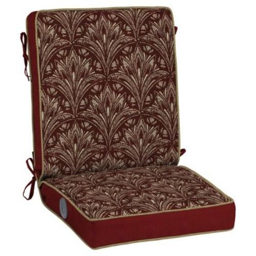 Bombay Outdoors Royal Zanzibar Medallion Adjustable Comfort Reversible Chair Cushion