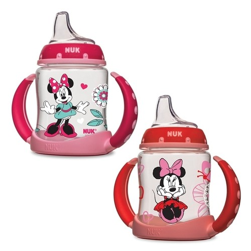 Nuk Disney Minnie Mouse Pink Plastic Learner 5-ounce Cup