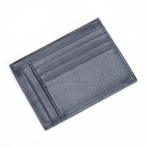Royce Leather Royce Saffiano Leather RFID Blocking Slim Card Case Wallet