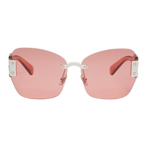 MIU MIU Pink Sorbet Sunglasses