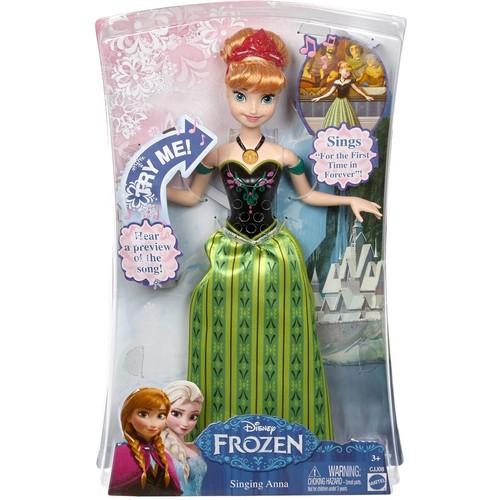 Disney Frozen Singing Anna Doll [Standard Packaging]