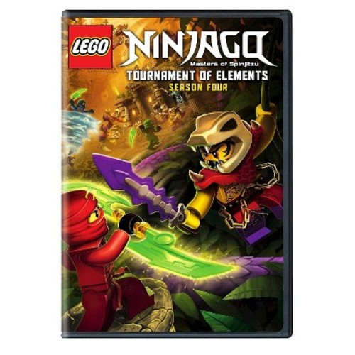 LEGO Ninjago: Masters of Spinjitzu - Season Four (2 Discs) (dvd_video)