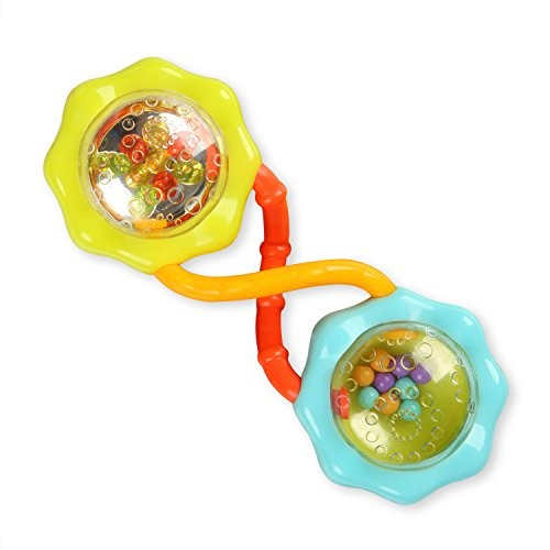 Bright Starts Rattle and Shake Barbell Rattle