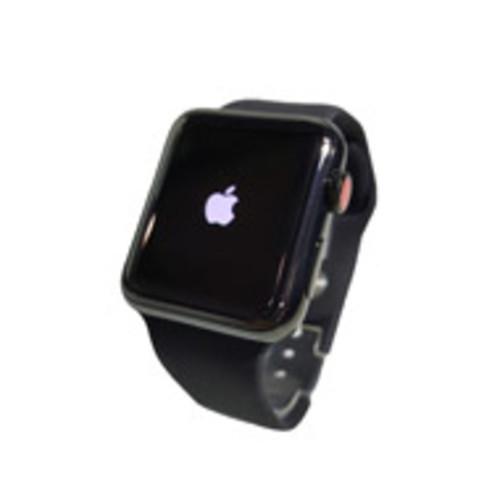 Apple Watch Series 3 38mm Steel Frame - GPS & LTE (Black with Black) [Pre-Owned]