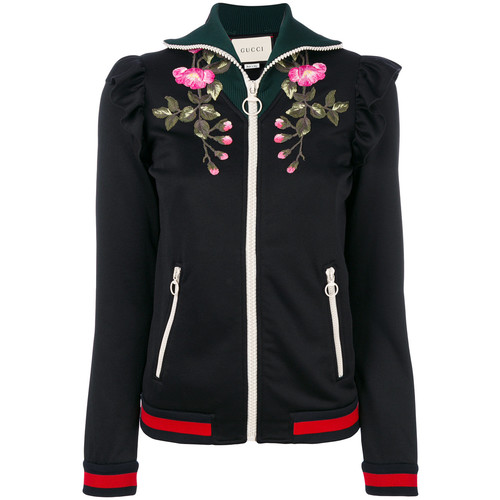 GUCCI Floral Zip Jacket