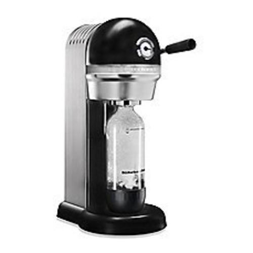 KitchenAid KSS1121OB Sparkling Beverage Maker, Onyx Black [Onyx Black, 60 Litre]