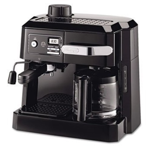 DeLonghi BCO320T Combination Espresso and Drip Coffee- Black
