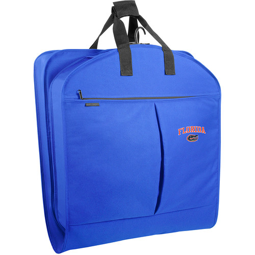 WallyBags Florida Gators 40 Inch Suit Length Garment Bag with Pockets, Royal Blue, One Size [Royal FLA]