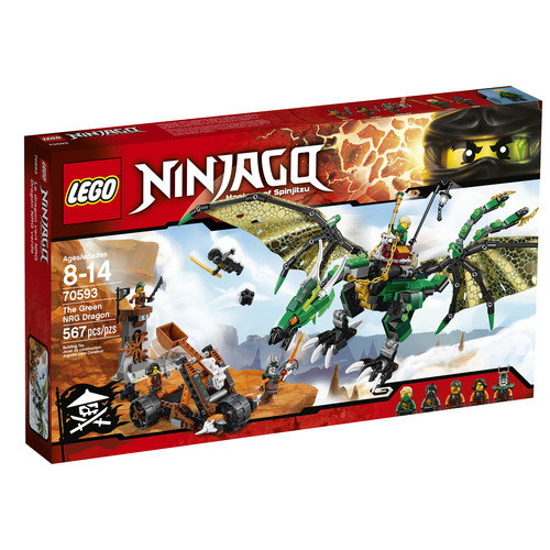 LEGO NINJAGO The Green NRG Dragon #70593