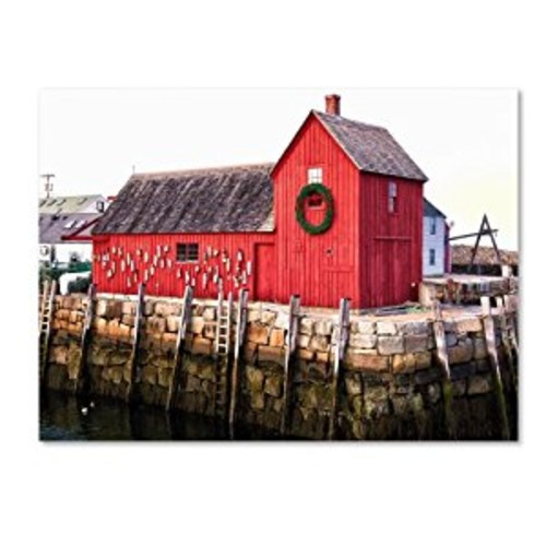 Boston 5 by CATeyes, 14 by 19-Inch Canvas Wall Art [14 by 19-Inch]