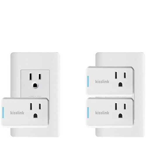 kisslink Wi-Fi Smart Plug Mini - Two-Pack