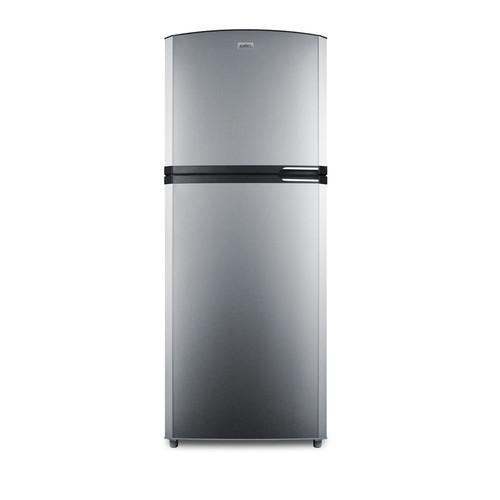 Summit Appliance 12.9 cu. ft. Top Freezer Refrigerator in Stainless Steel