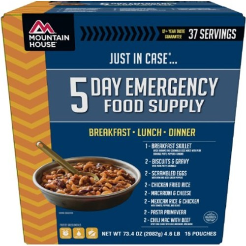 Just In Case 5-Day Emergency Food Supply