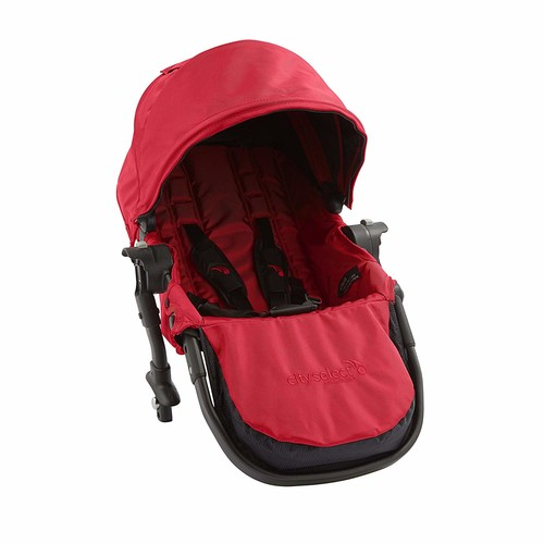 Baby Jogger City Select Second Seat Kit, Red [Red]