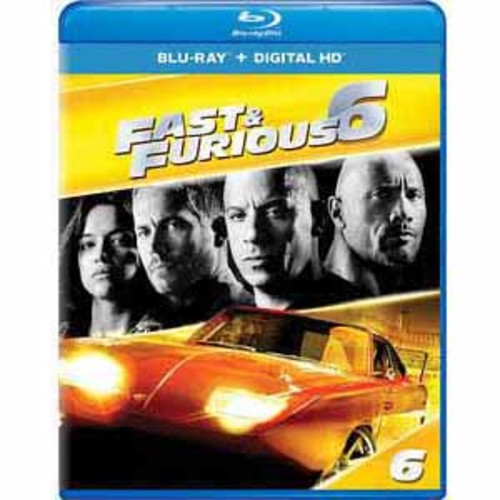 Fast And Furious 6 [Blu-Ray] [Digital HD]