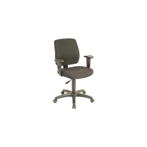 Office Star Task Chair with Ratchet Back Height Adjustment - Black