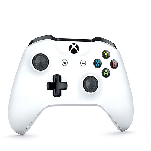 Microsoft Wireless Controller for Xbox One \u0026 Win 10 - White