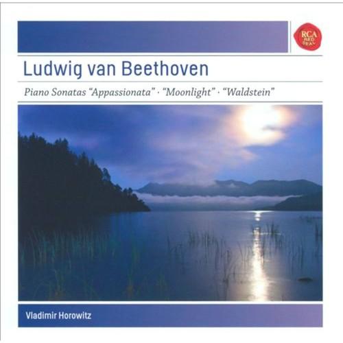 Beethoven: Piano Sonatas 'Apassionata', 'Moonlight', 'Waldstein' [CD]