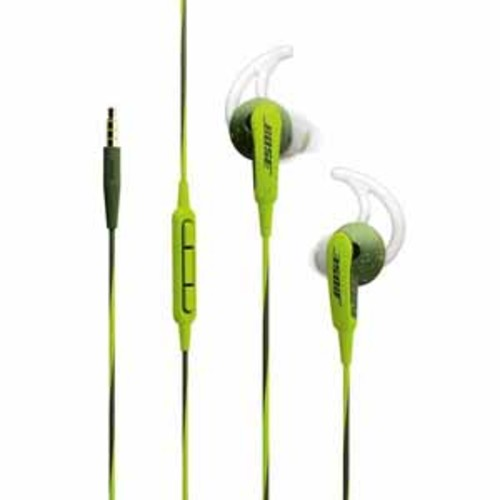 Bose SoundSport In-ear Headphones For Select iPod, iPhone and iPad Models - Energy Green