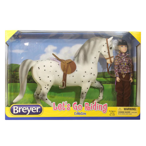 Breyer Traditional Series English Let's Go Riding Set