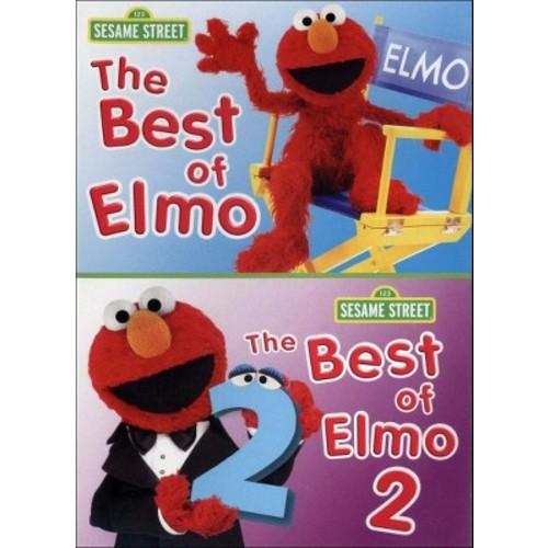 Sesame Street: The Best of Elmo, Vols. 1 and 2 (dvd_video)