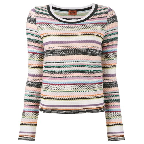 MISSONI Knitted Stripe Top