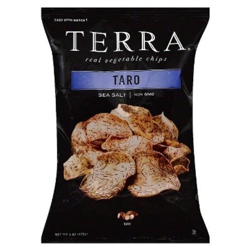 Terra Real Vegetable Chips Taro Sea Salt -- 6 oz