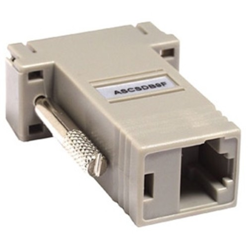 Scs232 Serial Adapter RJ45f To Db9f