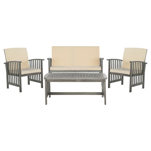 Rocklin 4-Pc Outdoor Set, Gray