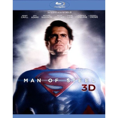 Man of Steel 3D [4 Discs] [Includes Digital Copy] [UltraViolet] [3D/2D] [Blu-ray/DVD]