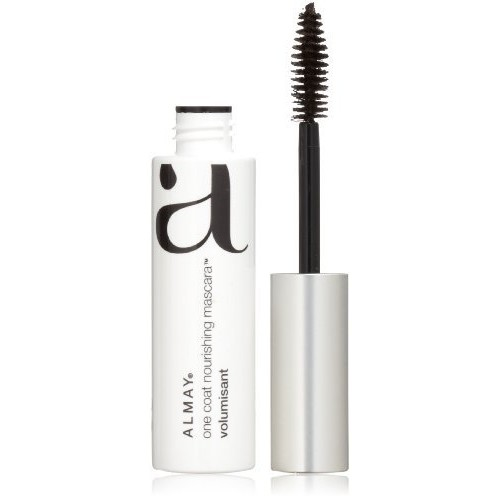 Almay One Coat Thickening Mascara, Black Brown [403], 0.26 FL oz [Black/Brown]