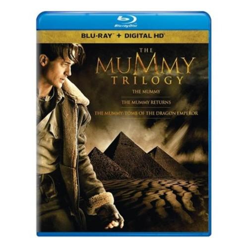 The Mummy Trilogy (Blu-ray + Digital)