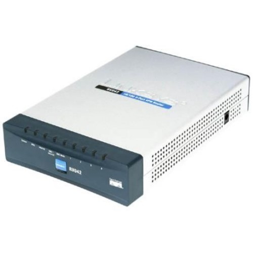 Cisco RV042 4-port 10/100 VPN Router - Dual WAN