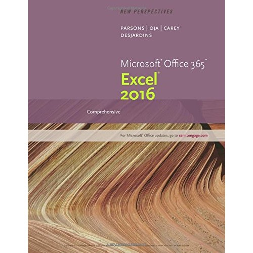 Perspectives Microsoft Office 365 & Excel 2016: Comprehensive