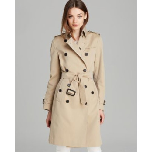 BURBERRY London Trench Coat - Kensington Dk