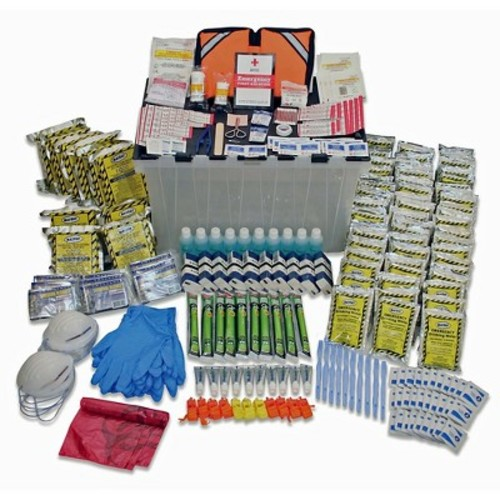 Ready America 70551 10 Person 3 Day Emergency Kit
