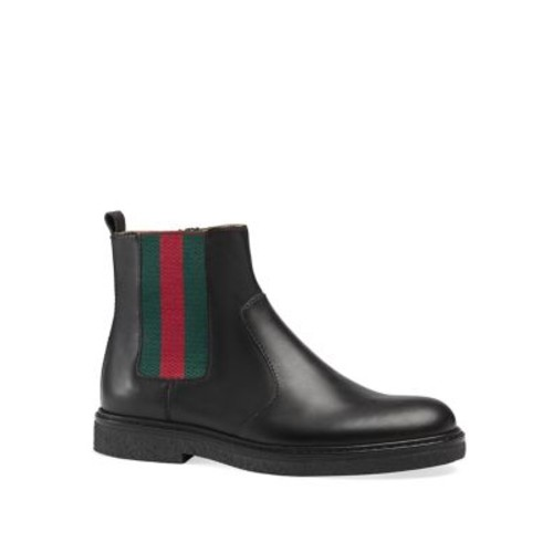 GUCCI Children'S Leather Booties
