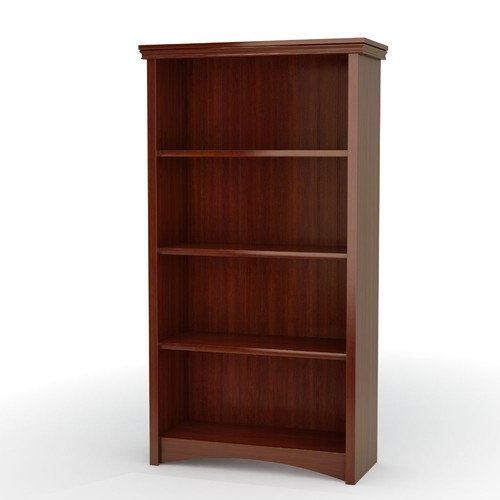 South Shore Bookcase, Lombardy Collection, Sumptuous Cherry
