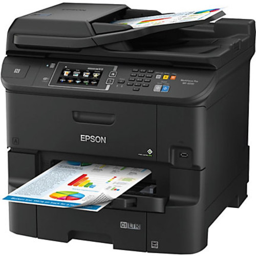 Epson WorkForce Pro WF-6530 Inkjet All-In-One Desktop Printer, Copier, Scanner, Fax