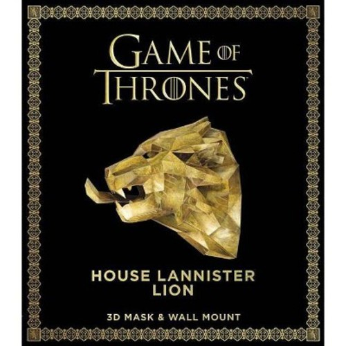 Game of Thrones Mask - House Lannister Lion (Paperback)