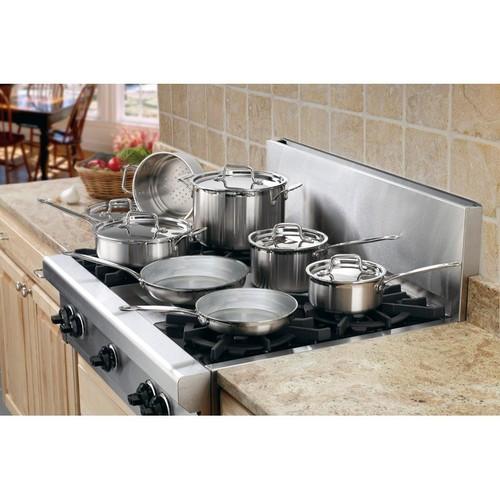 Cuisinart Multi Clad Pro 12-Piece Stainless Steel Cookware Set
