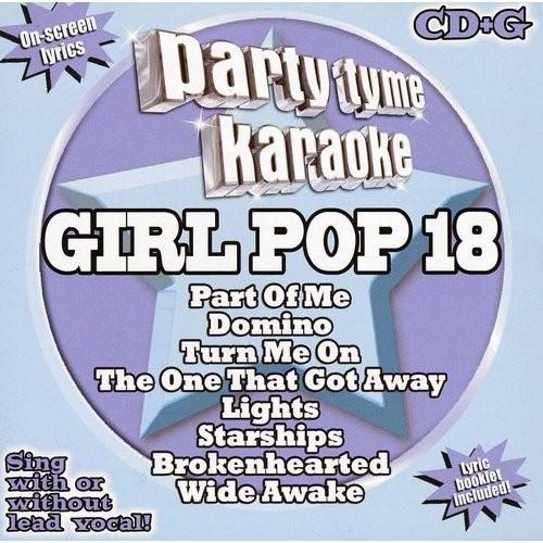 Party Tyme Karaoke: Girl Pop, Vol. 18 [CD + G]