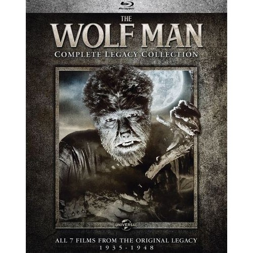 The Wolf Man: Complete Legacy Collection [Blu-ray] [8 Discs]